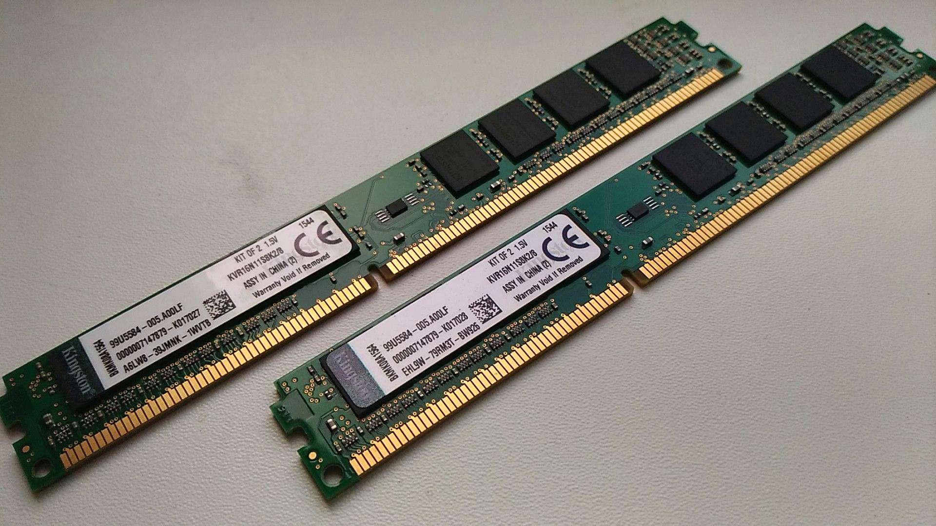 Оперативная память Kingston РСЗ-12800 DDR3