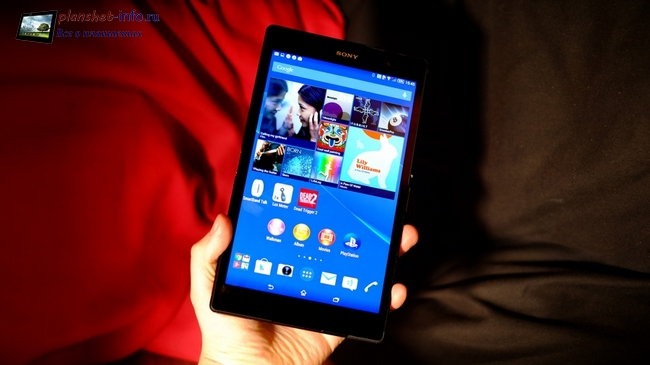 Экран Xperia Z3 Tablet Compact